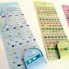 Stickers + masking tape