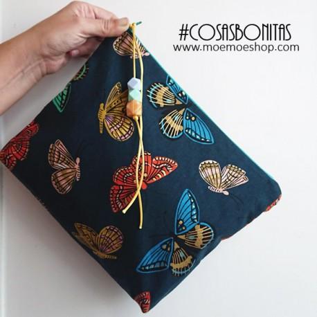 Conjunto Bolsa Grande Mariposas