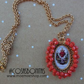 Medalla Mexicana Grande Corazón Coral