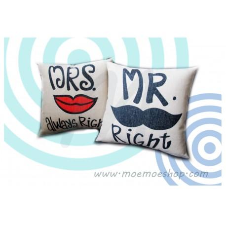 Cojin Moustache