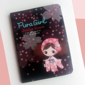 Cuaderno Pura Girl